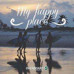 A praia me completa! <3 #happy #beach #surf #overboard