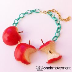 onch movement The Apple Necklace