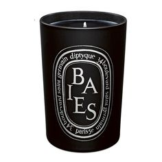 DIPTYQUE Baies Noire/Black Berries Candle 10.2 oz (135 AUD) ❤ liked on Polyvore featuring home, home decor, candles & candleholders, fillers, candles, decor, accessories, black, black candles and rose candle