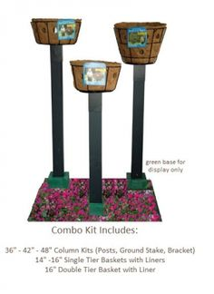 Large Basket Planter Column There Has To Be A Way To Diy