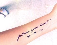women small quotes small tattoo for women beautiful tattoos for women ... #armtattoosforwomen