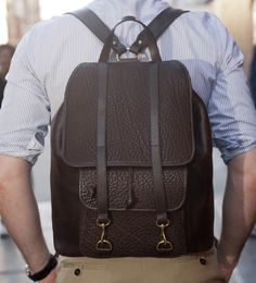Fancy - Grown Man Backpack by Frank Clegg x The Style Blogger