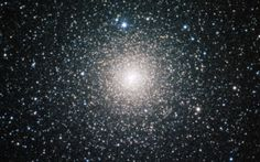 Star Cluster The globular cluster NGC 6388 observed by the MPG/ESO telescope Astronomy Terms, Space And Astronomy, Cosmos, Cygnus Constellation, Globular Cluster, Sky New, Star Formation, Star Cluster, Interstellar