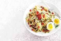 Quinoa met venkel en granaatappelpitjes >>> ook lekker om granaatappelpitjes te vervangen door stukjes appel
