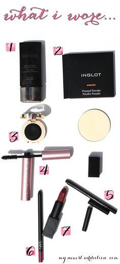 Vogue Makeup - What I Wore  #InspireFallFashion #pmedia #ad