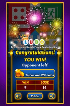 Ludo King™ - Play the Most Popular Board Game Free Mobile Games, Free Games, King App, Most Popular Boards, Kings Game, Google Play, Board Games, Congratulations, Coins