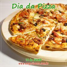 Hoje, 10 de Julho, é o Dia da Pizza!!!    Saiba mais sobre sua origem e confira a receita de Massa de Pizza sem Glúten, sem Leite e sem Lactose!    Acesse: https://www.emporioecco.com.br/blog/dia-da-pizza-10-de-julho/