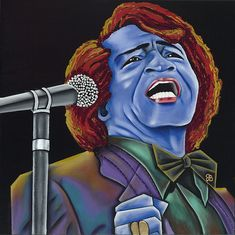 James Brown - The Godfather by Nannette Harris