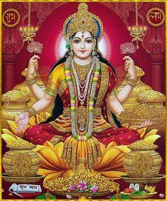 Good Morning Greetings with Goddess Lakshmi Devi Blessings on Friday Images pictures Saraswati Goddess, Shiva Shakti, Goddess Lakshmi, Lakshmi Photos, Lakshmi Images, Sai Baba Pictures, God Pictures, Indian Goddess, Lord Vishnu Wallpapers