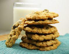 Oatmeal Raisinet Cookies