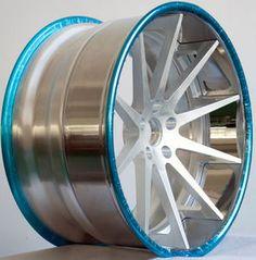 Deep Concave 3 Piece Forged Aluminum Wheel LG3-039
