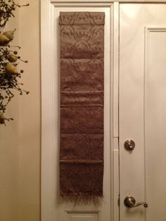 front door curtains, how to, diy | handmade happiness | pinterest
