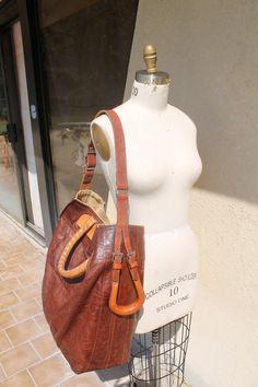 1cdcf8abf8e1 THE BEAST BAG -This stunning custom leather bag