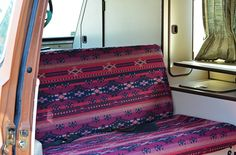 How to Make Awesome Westfalia Bench Covers. We did it and you can to...just follow these steps.