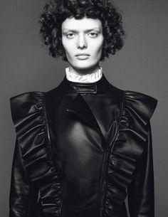 Vogue Paris: Un Ange A MaTable - Journal - I Want To Be An Alt