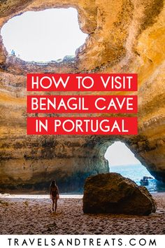 How to visit Benagil Cave in the Algarve, Portugal. You don't want to miss these sea caves in Portugal!
