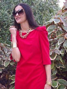 Vestido rojo...
