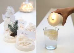 Segnaposto di cera Idea Natale Donnarita Magazine Foto Francesca Contini Orsetti