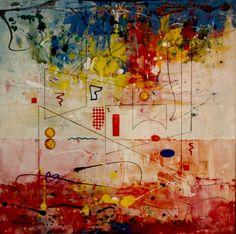 """Saatchi Online Artist Al Razza; , """"Solar Lines"""" #art"""