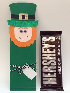 A personal favorite from my Etsy shop https://www.etsy.com/listing/176246687/leprechaun-hershey-bar-wrapper-favorgift
