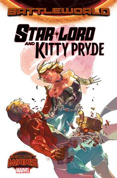 Star Lord and Kitty Pryde in Marvel Secret Wars