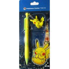 Pokemon Center Tokyo 2011 Pikachu Mechanical Pencil With Figure Charm