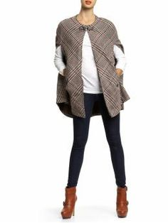 Love the look of the whole outfit, but I got the cape - Tinley Road plaid cape $89 from piperlime.com - MC
