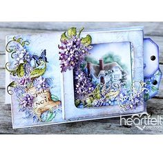 Cozy Cottage Garden - #HeartfeltCreations #spring #cardmaking #papercraft #anyoccasioncard #justbecause