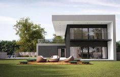 modern residence by NG architects #fachadasminimalistasdepartamentos