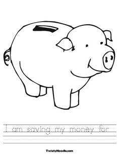 I am saving my money for...