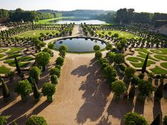 Gardens at Versailles, France. Photograph by Emmanuel Lattes, Alamy