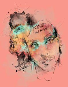 Chet Faker-Dead Body  By: Sbztn Chet Faker, Graphic Design Illustration, Watercolor Tattoo, Instagram, Art, Pageants, Musica, Art Background, Kunst
