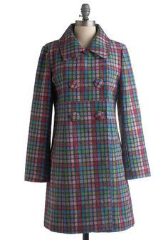 Sorbet Shop Coat | Mod Retro Vintage Coats | ModCloth.com - StyleSays