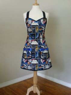 Star Wars Apron Limited Quantity by HauteMessThreads on Etsy, $40.00
