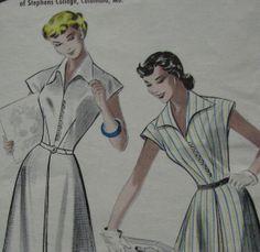 Vintage Butterick Dress Pattern 5665 Bust 31 Susie by tammyo, $5.00
