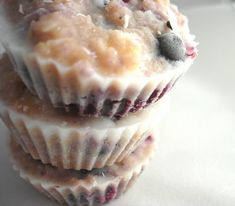 PaleOMG – Paleo Recipes – Blueberry Honey Coconut Cups