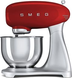 Smeg SMF01RDUK 50's Retro Style Mixer - Red Obviously any make long as its Red or Green!