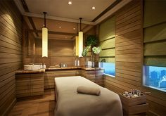 Spa Treatment Room, Six Senses Spa at the Pacific City Club Bangkok