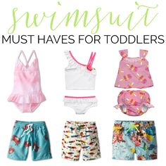 Swimsuit Must Haves For Toddlers