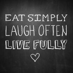 Three simple reminders. #WordsToCookBy
