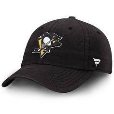 Pittsburgh Penguins Fundamental Adjustable Hat - Black