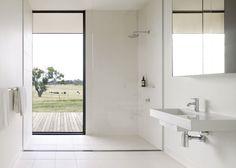 Open shower/ Design bathroom / Décoration salle de bain / Douche italienne: tous les styles de douche ouverte - Marie Claire Maison