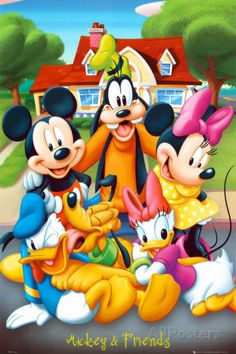 Mickey Mouse and Friends At the Movies Prints at AllPosters.com
