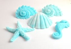 Sea Shell Soap The Beach House Soap Set In by pinkparchmentsoaps on etsy. SOAP!