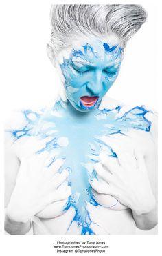 'Cold as Ice' – Amber Michael – MUA – NC