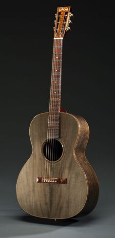 The Ghost Oak by Santa Cruz Guitars --- www.pinterest.com/... frettedchordophones.tumblr.com