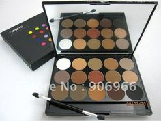 Dark blue 15 color eye shadow palette plate trimming eyebrow eyeshadow (Pure Matte) 1Pcs/Lot Free shipping Best selling!-in Eye Shadow from Beauty & Health on Aliexpress.com