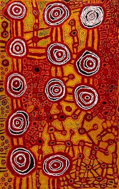 workman:  indigenousartofaustralia: Beryl JimmyKapi Tjukula 2011 80 x 50 inches