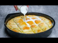 Burek Recipe, Kolaci I Torte, Romanian Food, Party Snacks, Baby Food Recipes, Cornbread, Food Videos, Quiche, Bakery