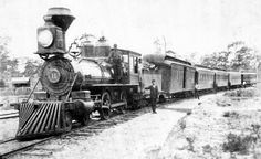 The Sanford & St. Petersburg Railroad became the new name after the reorganization of the Orange Belt Railway in Locomotive № 11 was a standard-guage engine built by Baldwin and acquired in 1895 from Henry Plant's South Florida railroad. Train Car, Train Tracks, Old Florida, Florida Vacation, South Florida, Vacation Rentals, Railroad History, Choo Choo Train, Abandoned Train